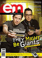 TMBG grace the cover of Electronic Musician!
